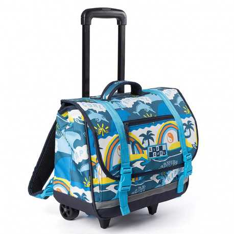 cartable a roulettes rip curl